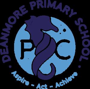 Deanmore Primary School P & C Logo, Aspire, Act, Achieve